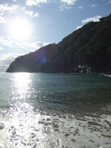 2012.12.19 今朝の海