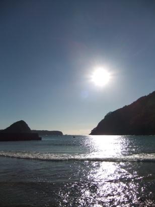 2012.12.11 朝の海